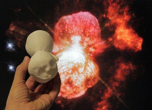 3D-Printed Space Models