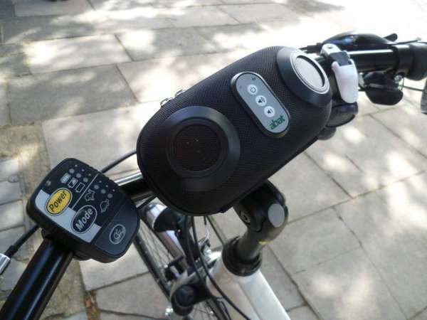Bike-Mounted Boomboxes