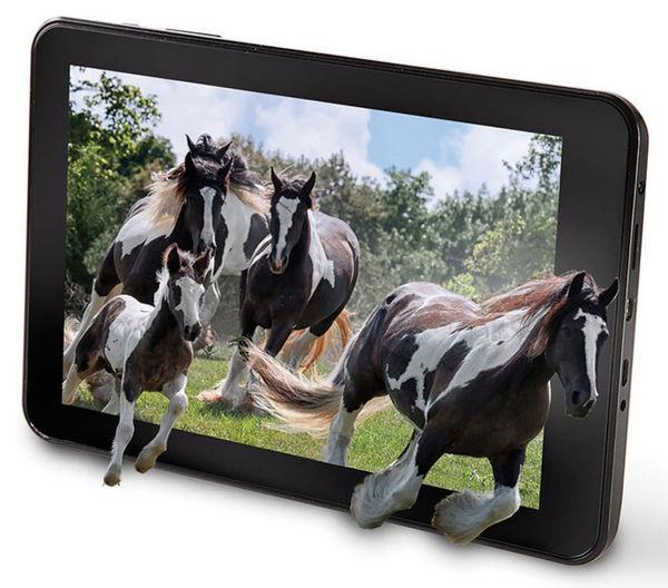 Glasses-Free 3D Tablets