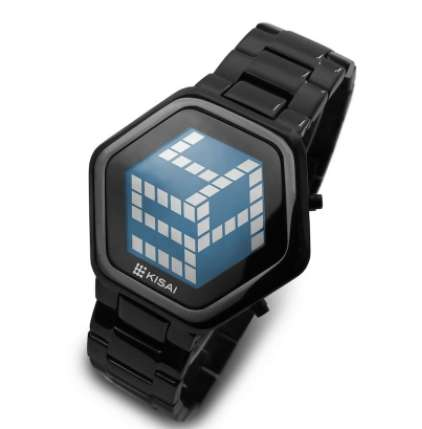 3D Unlimited LCD Watch by Kisai