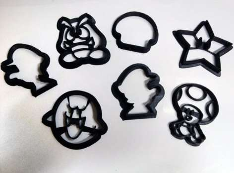 Arcade-Inspired Pastry Molds