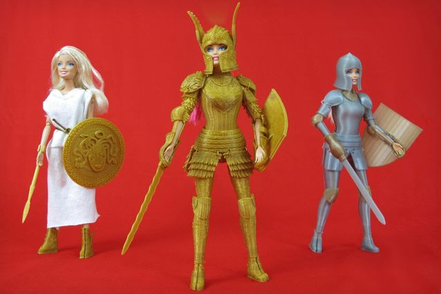 3D-Printed Barbie Armor (UPDATE)