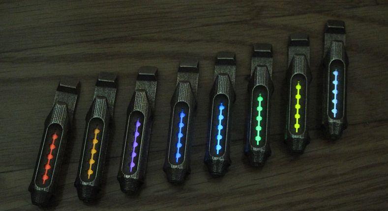 Multifunctional 3D-Printed Flashlights