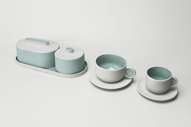 3D-Printed Tea Sets