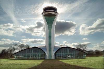 3DReid Architects' Farnborough Airport