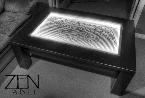 High-Tech Serenity Gardens : 3G Zen Coffee Table