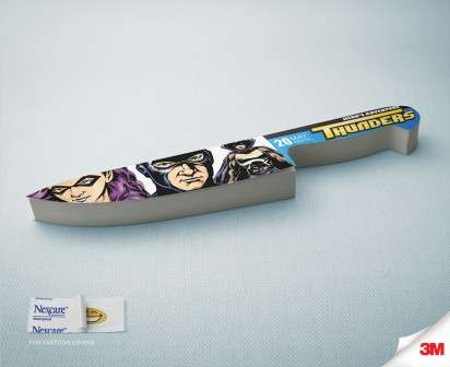 Comic Book Knife Ads