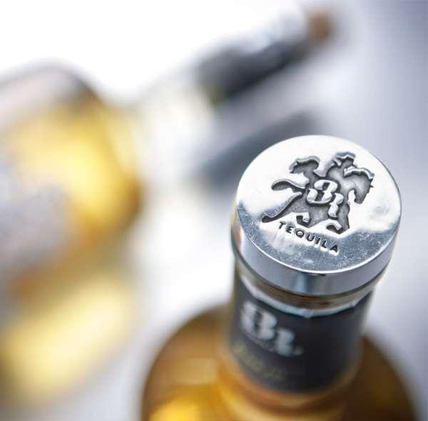 Cowboy-Capped Bottles