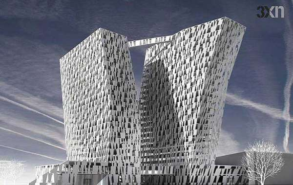 Extraordinary Tilting Towers