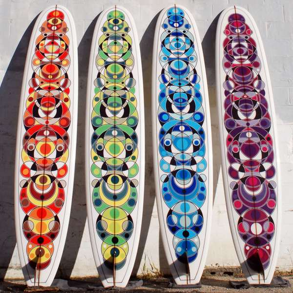 Artistic Wave Riders