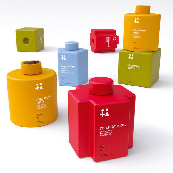 Stackable Toiletry Bottles