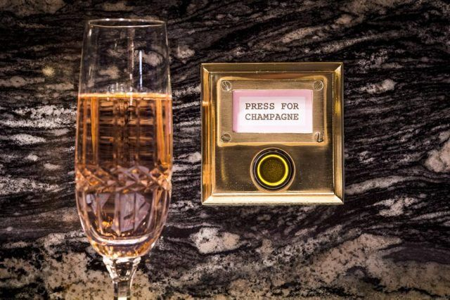 In-Office Champagne Buttons