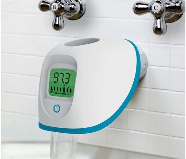 Temperature-Reading Tub Spouts