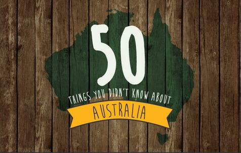 Quirky Australia-Focused Infographics