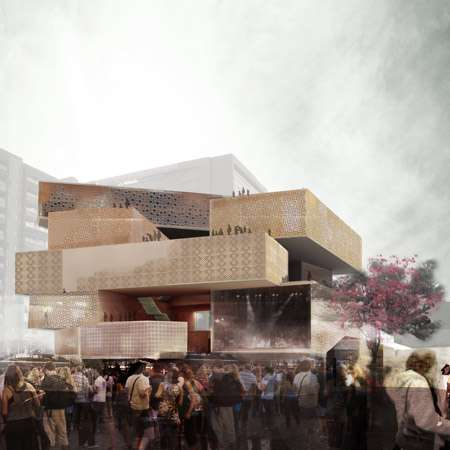 51-1 Arquitectos Museum Addition