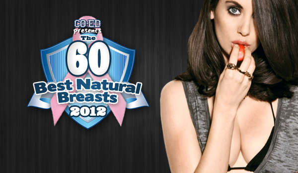 60 Best Natural Breasts of 2012