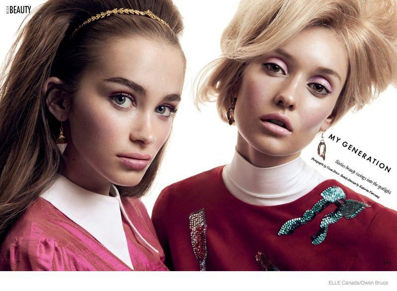 60s Beauty Editorials