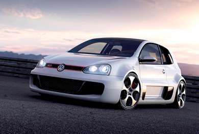 650 Horsepower VW Golf GTI W12 650 Concept
