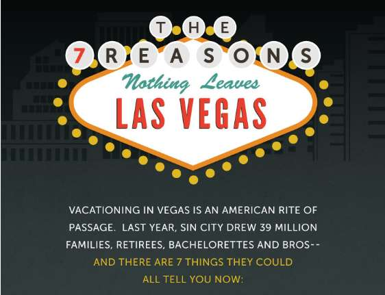 7 Reasons Nothing Leaves Las Vegas