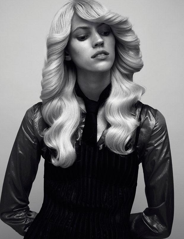 Nostalgic Couture Portraits 70s Fashion
