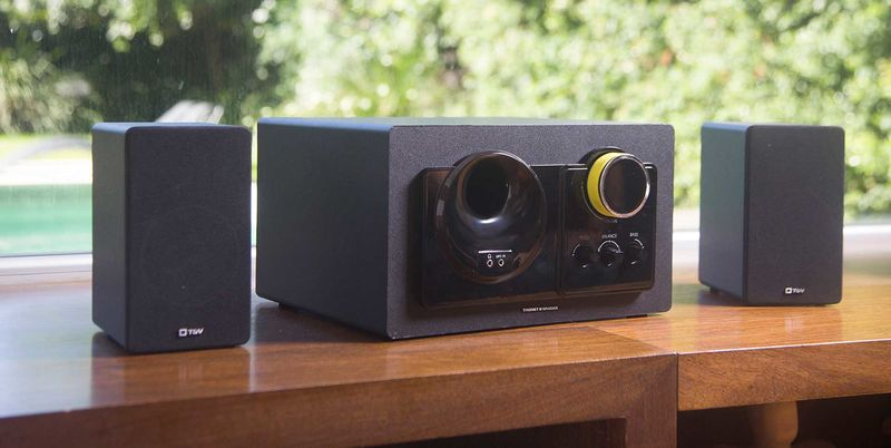Retro Minimalist Speakers