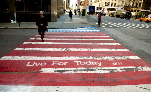 International Crisis-Commemorating Crosswalks