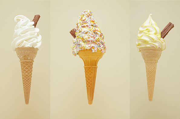 British Ice Cream Portraits