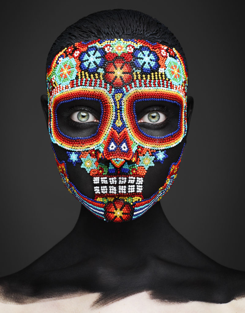 Skeletal Mask Editorials