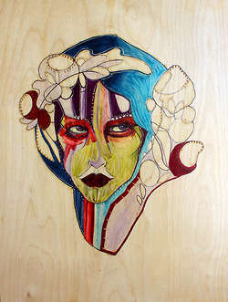 Wooden Canvas Art