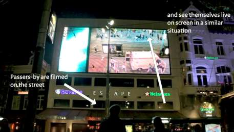 Violent Interactive Billboards