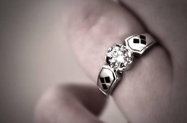 Geeky Villain Engagement Rings