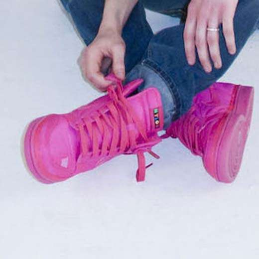 Color-Popping Sneakers