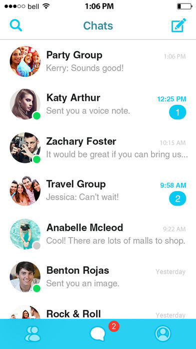 Hyper-Expressive Chat Apps