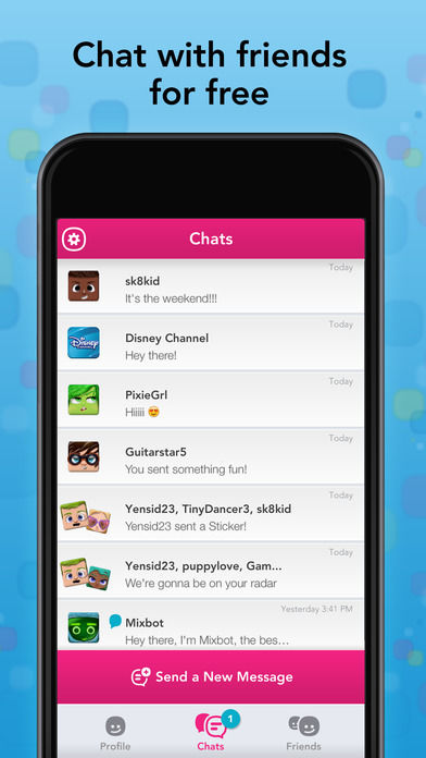 TweenMessaging Apps