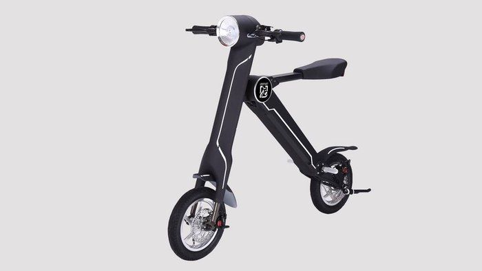 Weight-Hauling Smart Scooters
