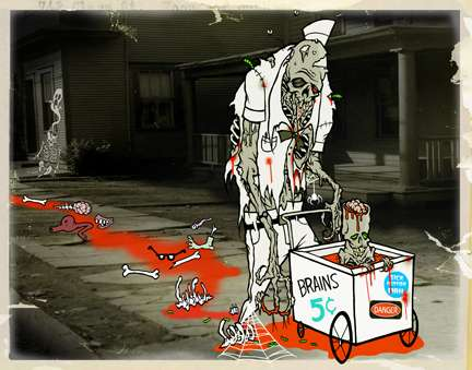 Macabre Cartoons