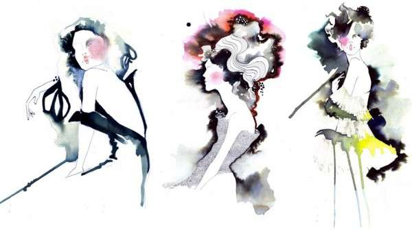 Bleeding Color Silhouettes