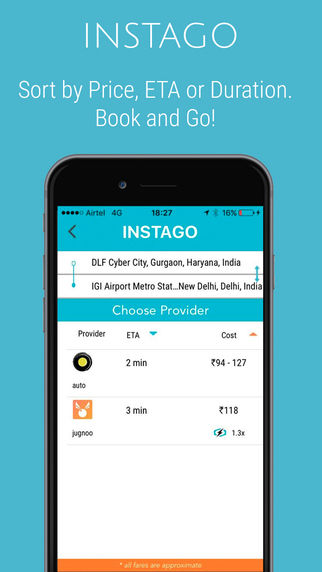 Taxi-Aggregating Apps