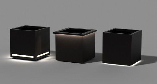 Modern LED Planters