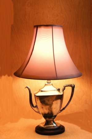 Repurposed Antique Lights