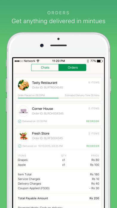 Chat-Based Retail Apps