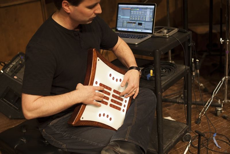 Wood-Framed Digital Instruments
