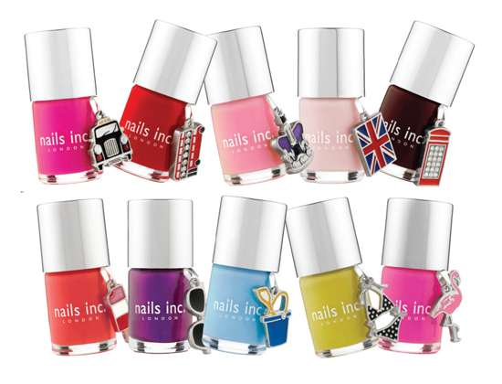Charmingly Colorful Claws – Nails Inc. 10th Anniversary Polish Set Includes Cutesy Trinkets