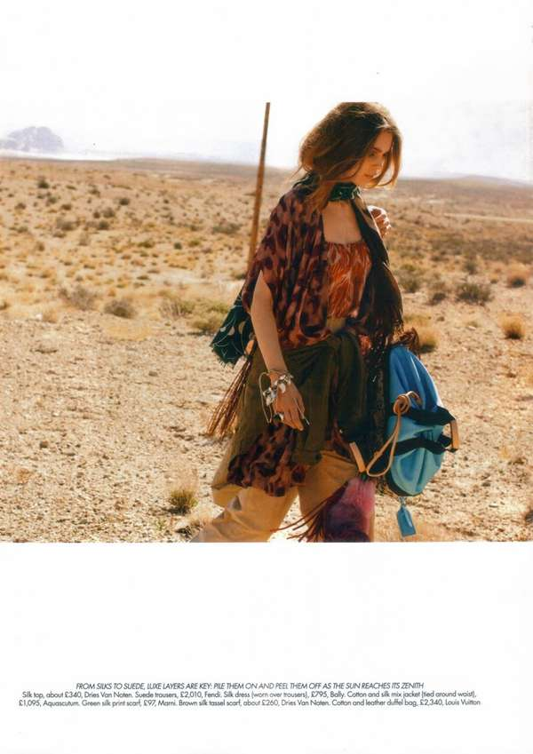 Boho Hitch-Hiking Styles