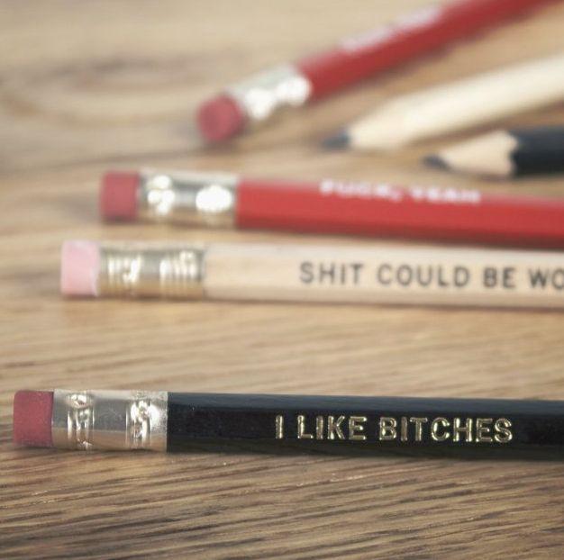 Coarse Language Pencils