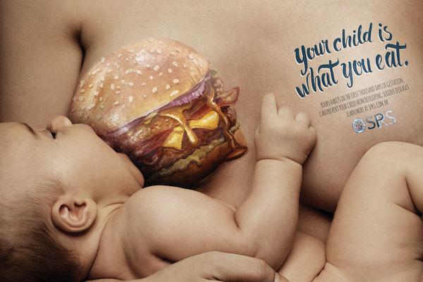 Healthy Pregnancy Diet Ads