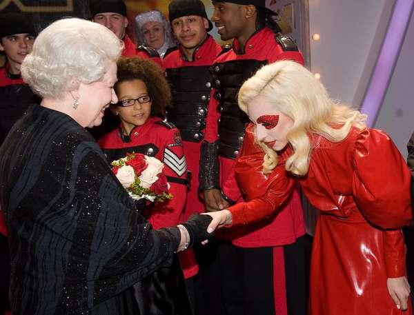 Royalty-Adoring Popstars