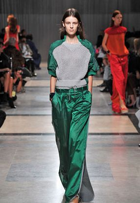 Sporty Netted Fashion
