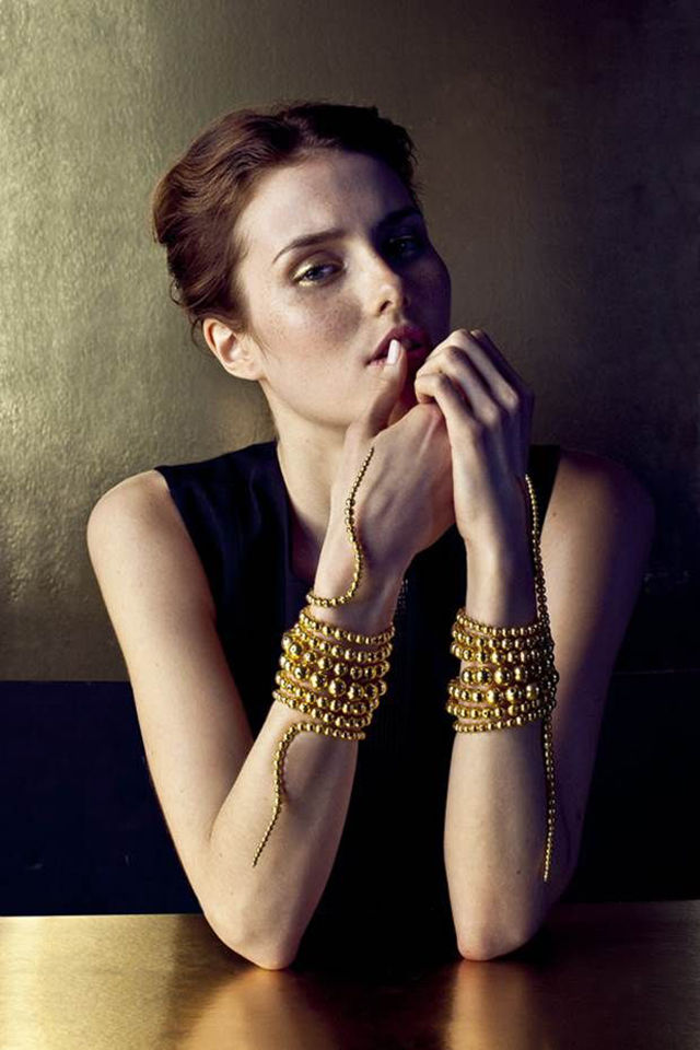 Golden Serpent Bracelets