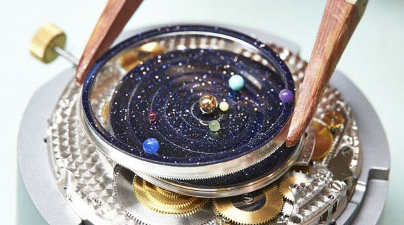 Luxe Planetary Timepieces
